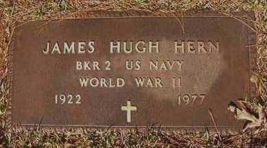 HERN (VETERAN WWII), JAMES HUGH - Dallas County, Arkansas | JAMES HUGH HERN (VETERAN WWII) - Arkansas Gravestone Photos