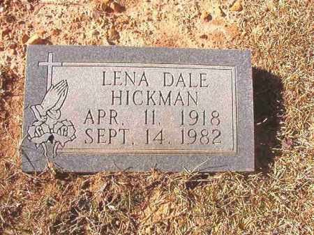 HICKMAN, LENA DALE - Dallas County, Arkansas | LENA DALE HICKMAN - Arkansas Gravestone Photos