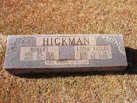 FALLIN HICKMAN, LONA - Dallas County, Arkansas | LONA FALLIN HICKMAN - Arkansas Gravestone Photos
