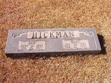 HICKMAN, MARY - Dallas County, Arkansas | MARY HICKMAN - Arkansas Gravestone Photos