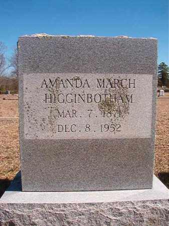 HIGGINBOTHAM, AMANDA - Dallas County, Arkansas | AMANDA HIGGINBOTHAM - Arkansas Gravestone Photos