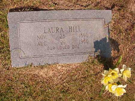 HILL, LAURA - Dallas County, Arkansas | LAURA HILL - Arkansas Gravestone Photos