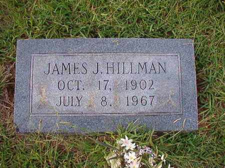 HILLMAN, JAMES J - Dallas County, Arkansas | JAMES J HILLMAN - Arkansas Gravestone Photos