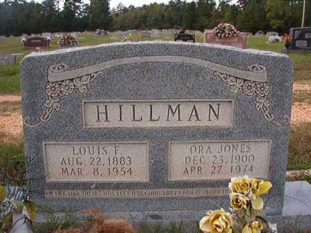 JONES HILLMAN, ORA - Dallas County, Arkansas | ORA JONES HILLMAN - Arkansas Gravestone Photos