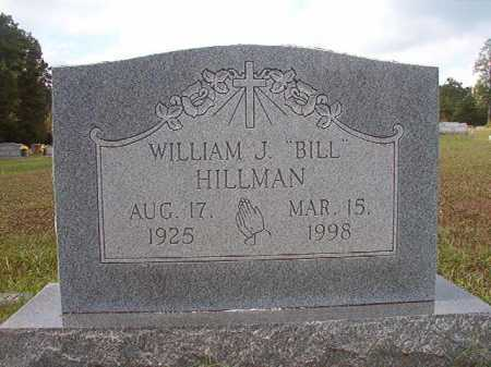 "HILLMAN, WILLIAM J ""BILL"" - Dallas County, Arkansas 