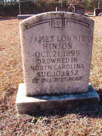 HINSON, JAMES LONNIE - Dallas County, Arkansas | JAMES LONNIE HINSON - Arkansas Gravestone Photos