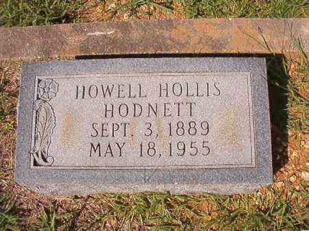 HODNETT, HOWELL HOLLIS - Dallas County, Arkansas | HOWELL HOLLIS HODNETT - Arkansas Gravestone Photos