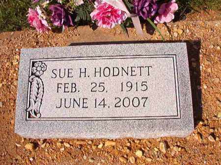 HODNETT, SUE H - Dallas County, Arkansas | SUE H HODNETT - Arkansas Gravestone Photos