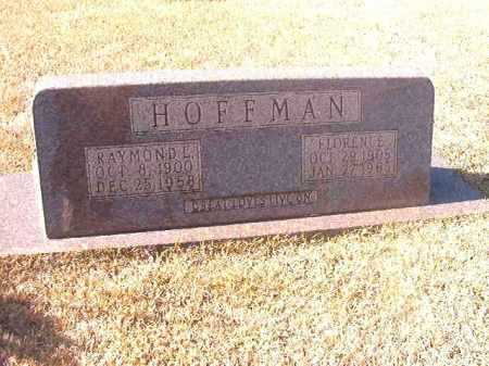 HOFFMAN, RAYMOND L - Dallas County, Arkansas | RAYMOND L HOFFMAN - Arkansas Gravestone Photos