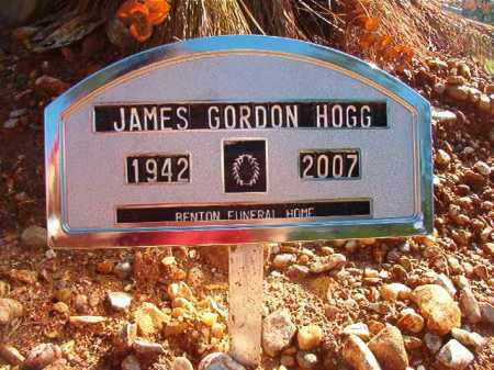 HOGG, JAMES GORDON - Dallas County, Arkansas | JAMES GORDON HOGG - Arkansas Gravestone Photos