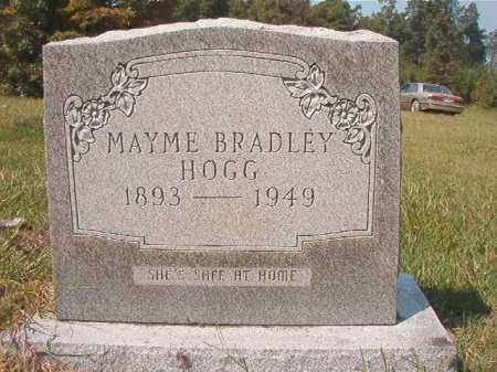 BRADLEY HOGG, MAYME - Dallas County, Arkansas | MAYME BRADLEY HOGG - Arkansas Gravestone Photos