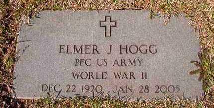 HOGG (VETERAN WWII), ELMER J - Dallas County, Arkansas | ELMER J HOGG (VETERAN WWII) - Arkansas Gravestone Photos