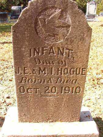 HOGUE, INFANT DAUGHTER - Dallas County, Arkansas | INFANT DAUGHTER HOGUE - Arkansas Gravestone Photos