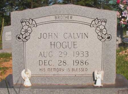 HOGUE, JOHN CALVIN - Dallas County, Arkansas | JOHN CALVIN HOGUE - Arkansas Gravestone Photos