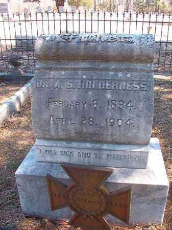 HOLDERNESS, DR, A S (BIO) - Dallas County, Arkansas   A S (BIO) HOLDERNESS, DR - Arkansas Gravestone Photos