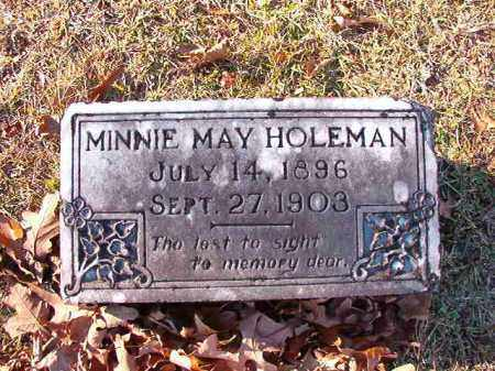 HOLEMAN, MINNIE MAY - Dallas County, Arkansas | MINNIE MAY HOLEMAN - Arkansas Gravestone Photos