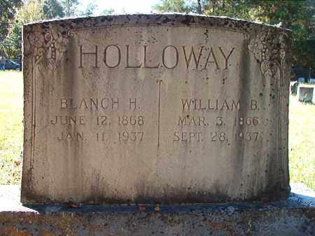HOLLOWAY, WILLIAM B - Dallas County, Arkansas | WILLIAM B HOLLOWAY - Arkansas Gravestone Photos