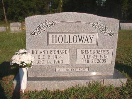 HOLLOWAY, ROLAND RICHARD - Dallas County, Arkansas | ROLAND RICHARD HOLLOWAY - Arkansas Gravestone Photos