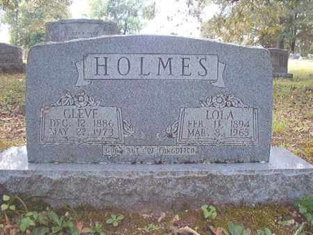 HOLMES, CLEVE - Dallas County, Arkansas | CLEVE HOLMES - Arkansas Gravestone Photos