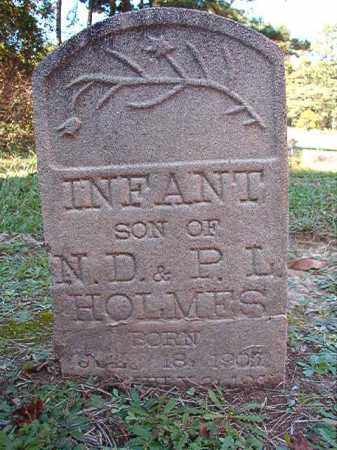 HOLMES, INFANT SON - Dallas County, Arkansas | INFANT SON HOLMES - Arkansas Gravestone Photos