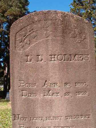HOLMES, L L - Dallas County, Arkansas | L L HOLMES - Arkansas Gravestone Photos