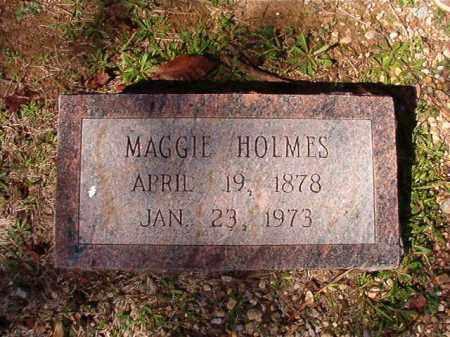 HOLMES, MAGGIE - Dallas County, Arkansas   MAGGIE HOLMES - Arkansas Gravestone Photos