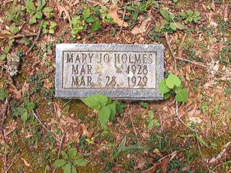 HOLMES, MARY JO - Dallas County, Arkansas | MARY JO HOLMES - Arkansas Gravestone Photos