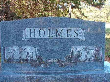 HOLMES, NAL DAVID - Dallas County, Arkansas | NAL DAVID HOLMES - Arkansas Gravestone Photos