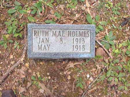 HOLMES, RUTH MAE - Dallas County, Arkansas | RUTH MAE HOLMES - Arkansas Gravestone Photos