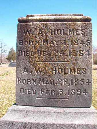 HOLMES, A W - Dallas County, Arkansas | A W HOLMES - Arkansas Gravestone Photos