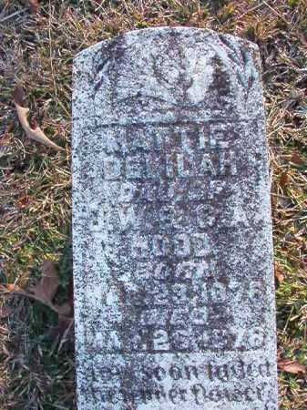HOOD, MATTIE DELILAH - Dallas County, Arkansas | MATTIE DELILAH HOOD - Arkansas Gravestone Photos