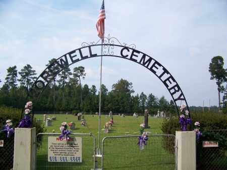*HOPEWELL, CEMETERY GATE - Dallas County, Arkansas | CEMETERY GATE *HOPEWELL - Arkansas Gravestone Photos