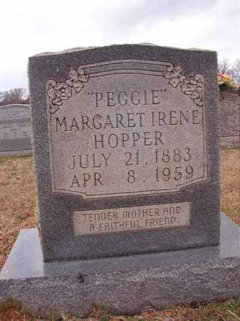 "HOPPER, MARGARET IRENE ""PEGGIE"" - Dallas County, Arkansas 