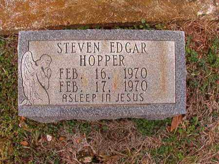 HOPPER, STEVEN EDGAR - Dallas County, Arkansas | STEVEN EDGAR HOPPER - Arkansas Gravestone Photos