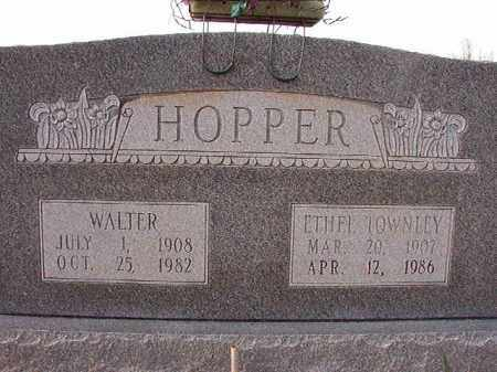 HOPPER, ETHEL - Dallas County, Arkansas | ETHEL HOPPER - Arkansas Gravestone Photos
