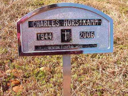 HORSTKAMP, CHARLES - Dallas County, Arkansas | CHARLES HORSTKAMP - Arkansas Gravestone Photos