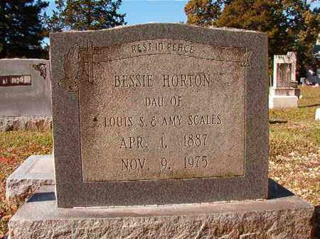 HORTON, BESSIE - Dallas County, Arkansas | BESSIE HORTON - Arkansas Gravestone Photos