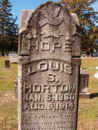 HORTON, LOUIS S - Dallas County, Arkansas | LOUIS S HORTON - Arkansas Gravestone Photos