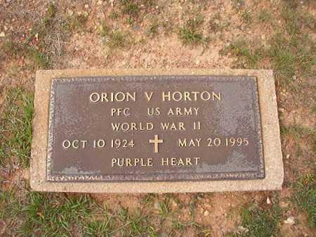 HORTON (VETERAN WWII), ORION V - Dallas County, Arkansas | ORION V HORTON (VETERAN WWII) - Arkansas Gravestone Photos