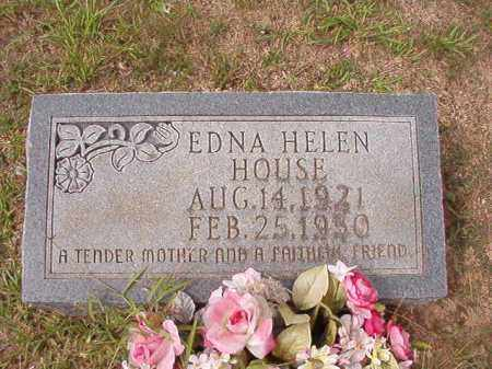 HOUSE, EDNA HELEN - Dallas County, Arkansas | EDNA HELEN HOUSE - Arkansas Gravestone Photos