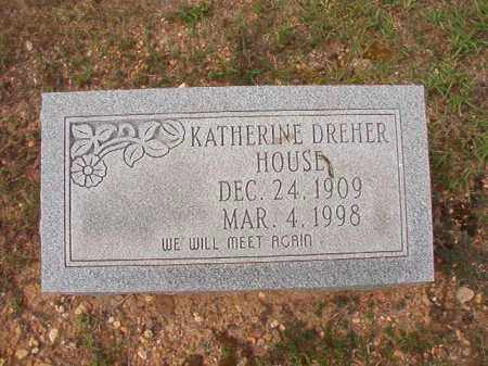 HOUSE, KATHERINE - Dallas County, Arkansas | KATHERINE HOUSE - Arkansas Gravestone Photos