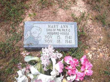 HOUSE, MARY ANN - Dallas County, Arkansas | MARY ANN HOUSE - Arkansas Gravestone Photos