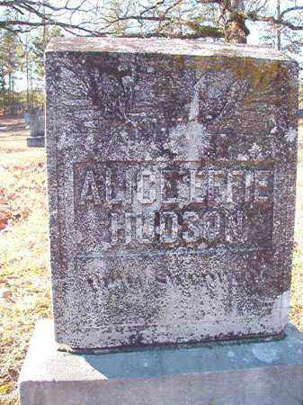 HUDSON, ALICE EFFIE - Dallas County, Arkansas | ALICE EFFIE HUDSON - Arkansas Gravestone Photos