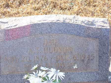 HUDSON, A.T. - Dallas County, Arkansas | A.T. HUDSON - Arkansas Gravestone Photos