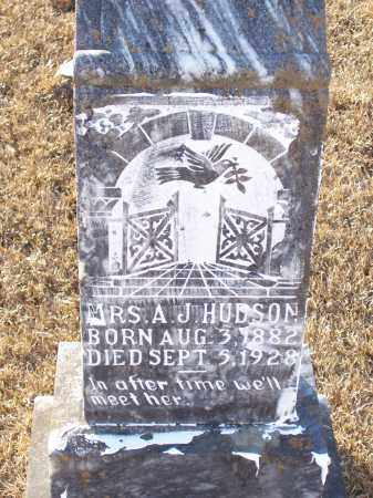 HUDSON, ANNIE JUDSON - Dallas County, Arkansas | ANNIE JUDSON HUDSON - Arkansas Gravestone Photos