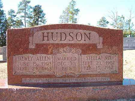 HUDSON, DEWEY ALLEN - Dallas County, Arkansas | DEWEY ALLEN HUDSON - Arkansas Gravestone Photos
