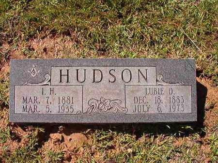 HUDSON, I H - Dallas County, Arkansas | I H HUDSON - Arkansas Gravestone Photos