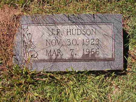 HUDSON, J F - Dallas County, Arkansas | J F HUDSON - Arkansas Gravestone Photos
