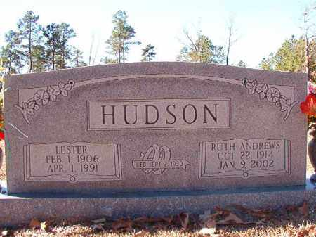 HUDSON, LESTER - Dallas County, Arkansas | LESTER HUDSON - Arkansas Gravestone Photos