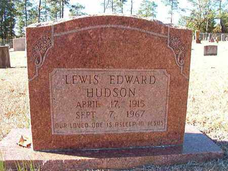HUDSON, LEWIS EDWARD - Dallas County, Arkansas | LEWIS EDWARD HUDSON - Arkansas Gravestone Photos